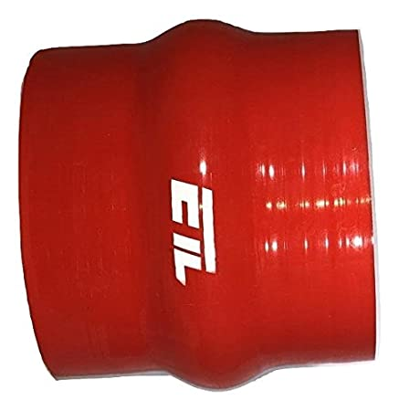 ETL Performance 233005 Silicone Hump Hose 2.75 Inch Diameter 3.00 Inch Black
