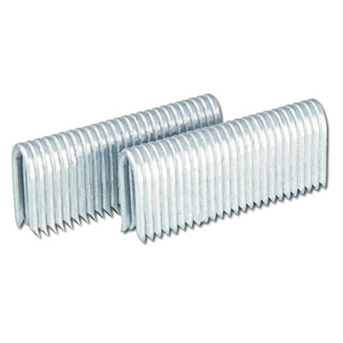 Freeman FS9G175 Pneumatic Barbed Fencing Staples 9 Gauge Corrosion & Rust Resistant Glue Collated Staples for Fencing