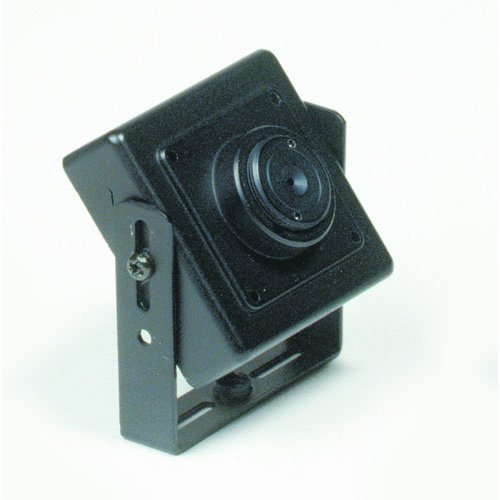 Clover Electronics CCM630P Ultra Miniature Color Camera with Pinhole Lens - Small (Black)
