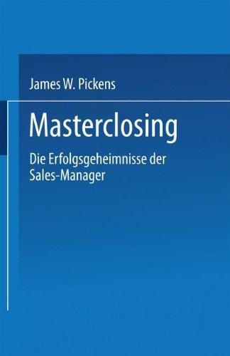Masterclosing (FAZ - Gabler Edition)