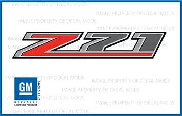 amazon com chevy silverado z71 truck truck stickers decals f rh amazon com z71 logo vector z71 logo wallpaper