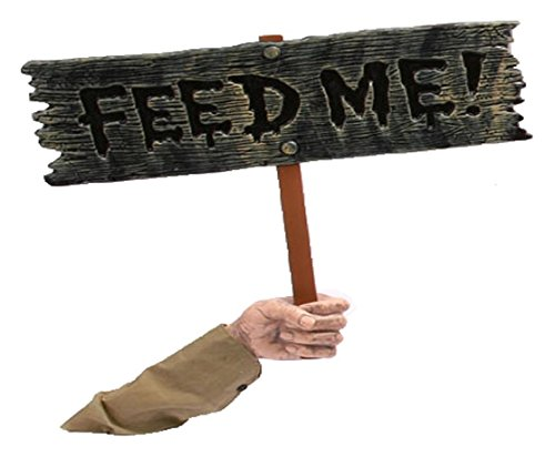 Feed Me Sign (This Halloween Soul Eater)