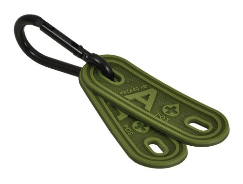 HAZARD 4 Blood-Type Lacer(TM) Tactical Multi-Position Marker 2-pack (R): A Positive