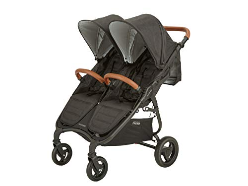 Valco Baby Snap Duo Trend Light Weight Double Stroller (2020) (Night Black)