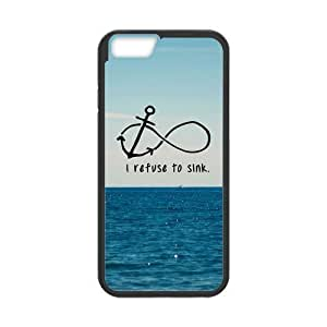 Andre-case Generic Infinity Anchor I Refuse To Sink Hardshell cell phone Cover vEnH8NjDHbW case cover for iPhone 6 plusinch Screen