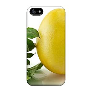 Durable Defender Case For Iphone 5/5s Tpu Cover(grim Reaper Easter Egg Yellow)