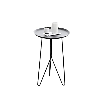 Astonishing Aoeiuv Round Sofa Side Table Nordic Wrought Iron Triangle Ncnpc Chair Design For Home Ncnpcorg