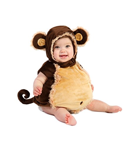 Princess Paradise Baby's Deluxe Melvin the Monkey Costume, 18M-2T ()