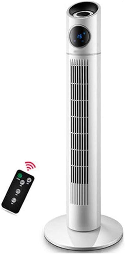 MAZHONG FANS Ventilador de torre vertical Ventilador de piso for el hogar Mute Ventilador vertical inteligente Control remoto -40W: Amazon.es: Coche y moto