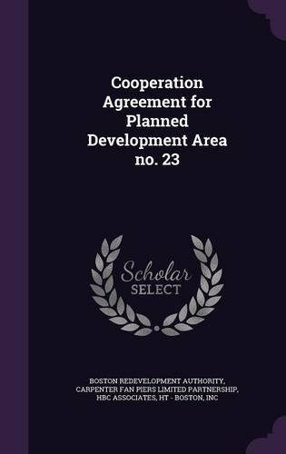 Cooperation Agreement for Planned Development Area no. 23 pdf