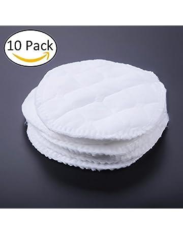 Enfermería almohadillas, almohadillas de lactancia orgánicos 10pcs/lot lavable a prueba de fugas Ultra
