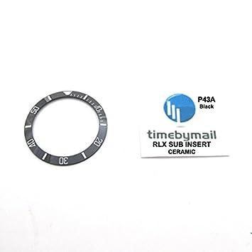 Timebymail CERAMIC Bezel Insert For ROLEX 116610 LN