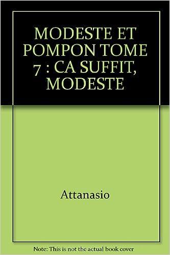 Livre gratuits MODESTE ET POMPON TOME 7 : CA SUFFIT, MODESTE pdf, epub ebook