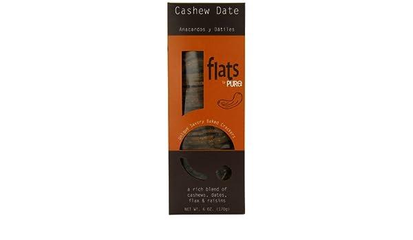 Amazon.com: Pure Indulgent Foods Crackers, Cashew Date ...