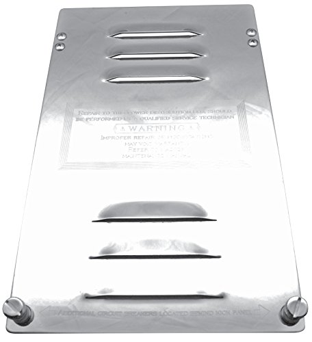 Kaper II WP-KT9 Fuse/Breaker Compartment Door with Louvers Engraved (Kw), 1 Pack by Kaper II