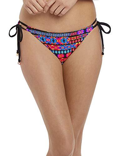 (Freya Echo Beach Rio Side Tie Bikini Bottom, XS, Multi)