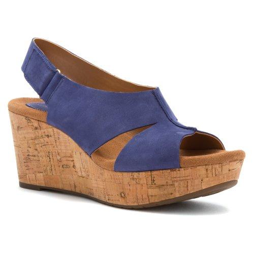 b8b6c770ca9 Clarks Women s Caslynn Lizzie Wedge Sandal