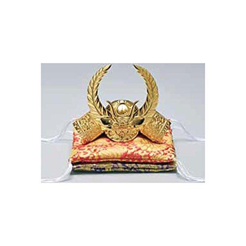 Tokyo Art Gallery ISHIHARA Japanese Samurai Golden Kabuto Helmet Statue - Ieyasu Tokugawa - w Double Cushion [Standard Ship by EMS with Tracking Number & Insurance]