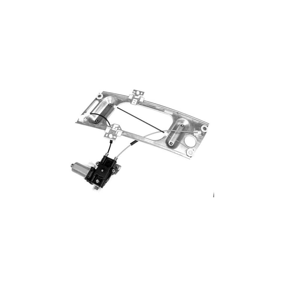 Dorman 741 809 Front Passenger Side Replacement Power Window Regulator with Motor for Chevrolet Monte Carlo/Pontiac Grand Prix
