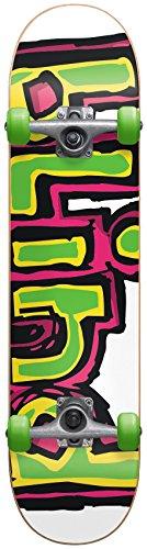 Blind 10511195Y Matte OG Logo Neon Complete Skateboard, Neon, Size 7.0MN