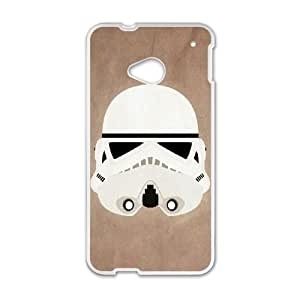 HTC One M7 Cell Phone Case White Star Wars Sbum
