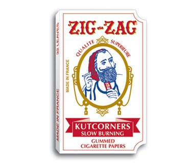 4 Packs Booklets Zig Zag KUTCORNERS Cigarette Rolling Papers