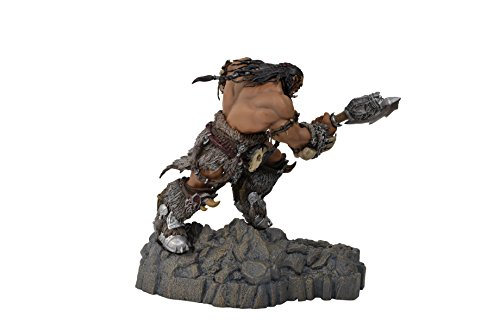 Swordfish-Tech-Warcraft-Durotan-Statue-Phone-Charging-Dock-Warcraft-Movie-Official-Licensed