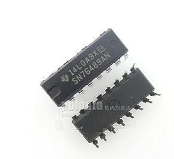 10PCS SN76489AN DIP-16 Digital complex sound generator NEW