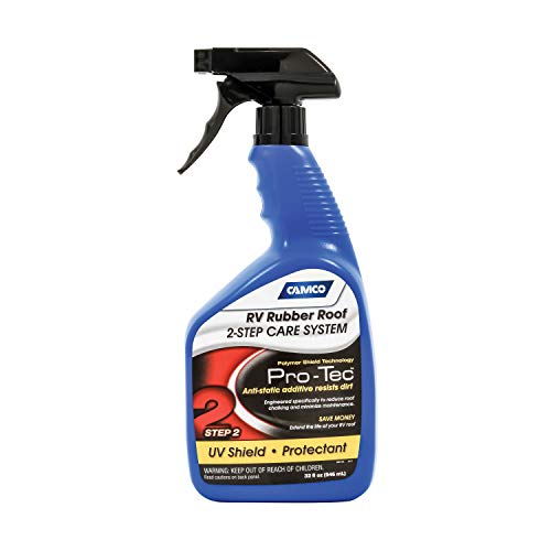 Roof Care Rv Rubber - Camco 41443 Rubber Roof Protectant 32 Oz, 32. Fluid_Ounces