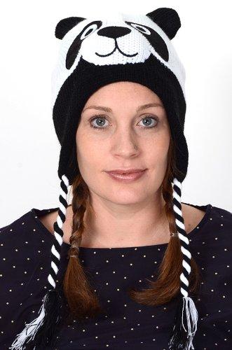Amazon Knit Panda Hat Animal Brand New High Quality Acyrlic