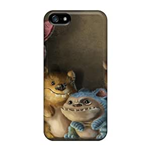Anti-scratch And Shatterproof Little Monsters Phone Case For Iphone 5/5s/ High Quality Case