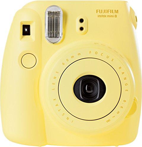 Fujifilm Instax P10GLB3080A Mini 8 Yellow + Strap and Battery by Fujifilm