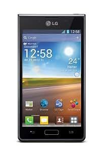 "LG Optimus L7 (P700) - Smartphone libre Android (pantalla 4.3"", cámara 5 Mp, 4 GB, 1 GHz, 512 MB RAM), negro (importado)"
