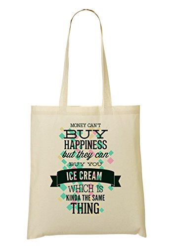 Cream provisions Money Sac à Buy Sac Ice Happines Can tout Your But Can't They Fourre 161xqrU8