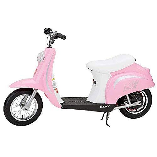 Razor Pocket Mod Miniature Euro Electric Scooter, Pink (Certified ()