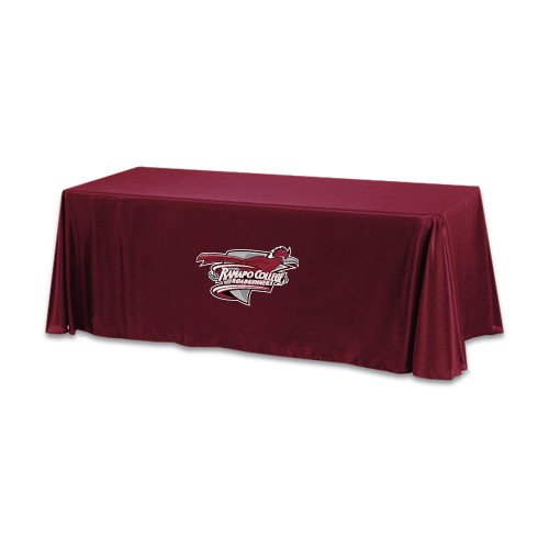 Ramapo Maroon 6 foot Table Throw 'Official Logo' by CollegeFanGear