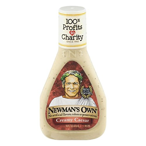 Newman#039s Own Salad Dressing Creamy Caesar 16 Ounce