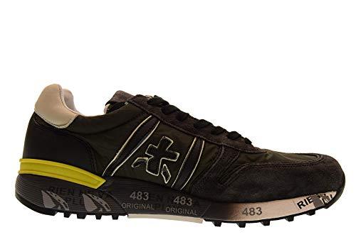 3244 Lander Nero Premiata Verde Homme Baskets Chaussures Basses XwxO4q1nv