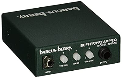 Barcus Berry 3000AE Piezo Buffer Pre-Amplifier with EQ by KMC Music Inc