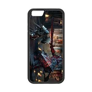 Lords Of The Fallen 2 funda iPhone 6 Plus 5.5 Inch caja funda del teléfono celular del teléfono celular negro cubierta de la caja funda EEECBCAAJ14475