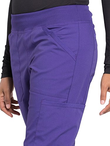 Cherokee Workwear Professionals WW170 Cargo Pant- Grape- Small Tall by Cherokee Workwear Professionals (Image #3)