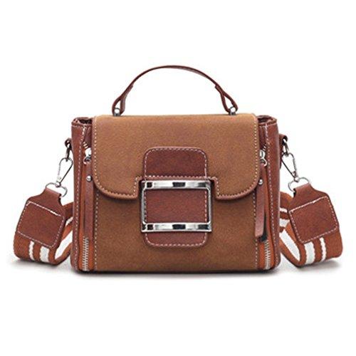 Flap Bag Women Messenger Bags Vintage Handbags Women Leather Bags Black Brown Female