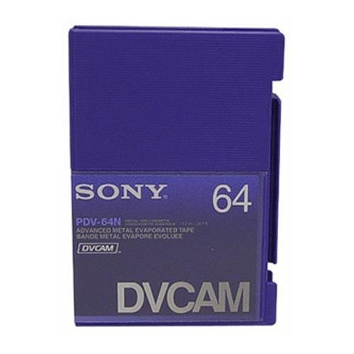 10PCS SONY DVCAM ADVANCE METAL EVAPORATED TAPE PDV-64N by LDB MART (Image #2)