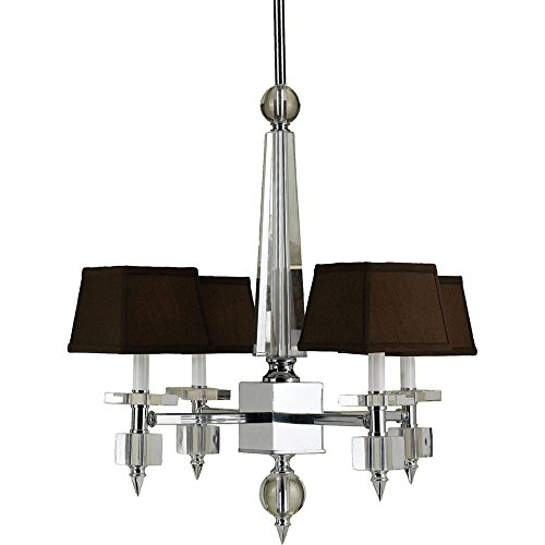 AF Lighting 6686 4-Light Crystal Chandelier