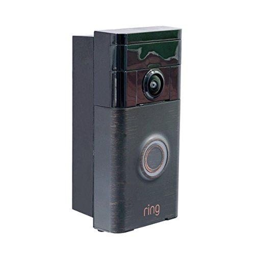 Ring Video DoorBell Angle Adjustment Adapter/Bracket For The Ring Video Doorbell (Doorbell Not Included) (For Ring Doorbell)