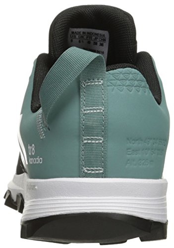 adidas outdoor Women's Kanadia 8 TR Trail Running Shoe Black/White/Vapour Steel cheap sale pay with paypal ebay for sale uld8ta