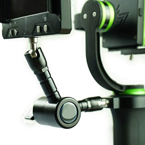 D DOLITY マジックアーム 360度回転 カメラ スタビライザリグ フラッシュホットシューマウント