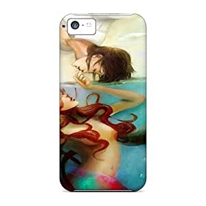 Lmf DIY phone caseWaterdrop Snap-on Little Mermaid Cases For iphone 5cLmf DIY phone case