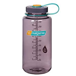 Nalgene WM 1 QT Aubergine Bottle, 32 oz