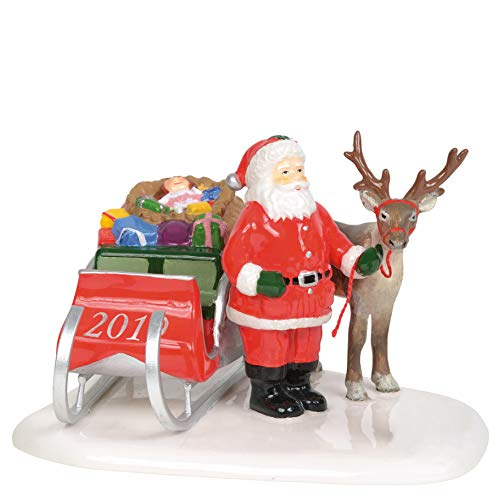 Department 56 Original Snow Village Santa Comes to Town, 2019 Figurine